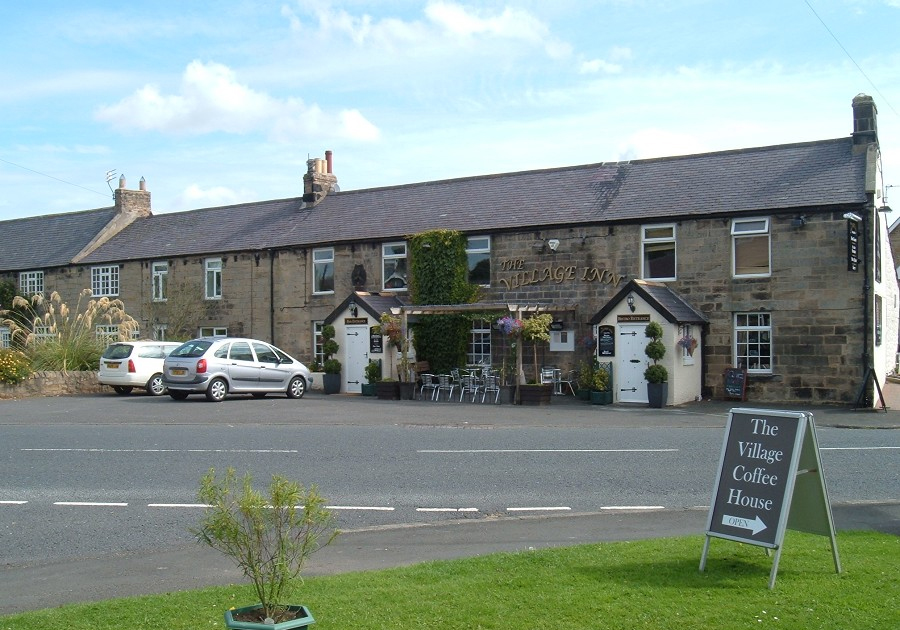 The Village Inn at the South End of the village